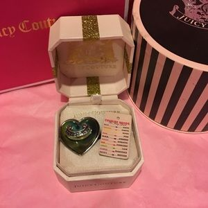JUICY COUTURE SUPER RARE ADJUSTABLE MOOD RING!